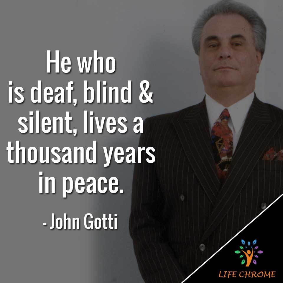 John Gotti Quotes