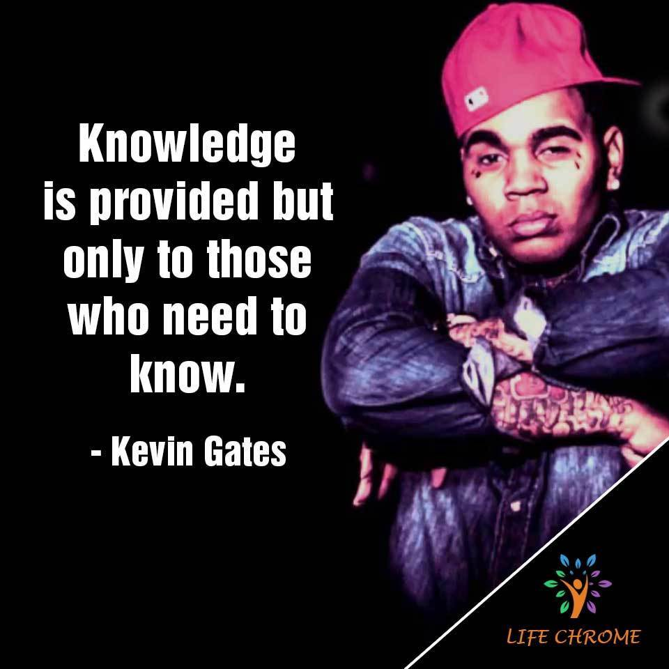 Knowledge is provided but only to those who need to know.