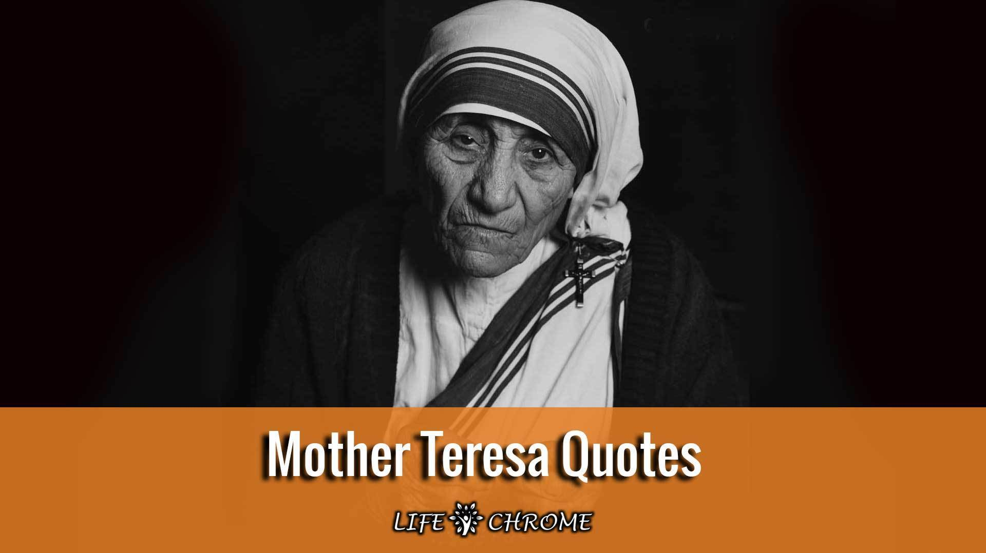 Mother Teresa Quotes