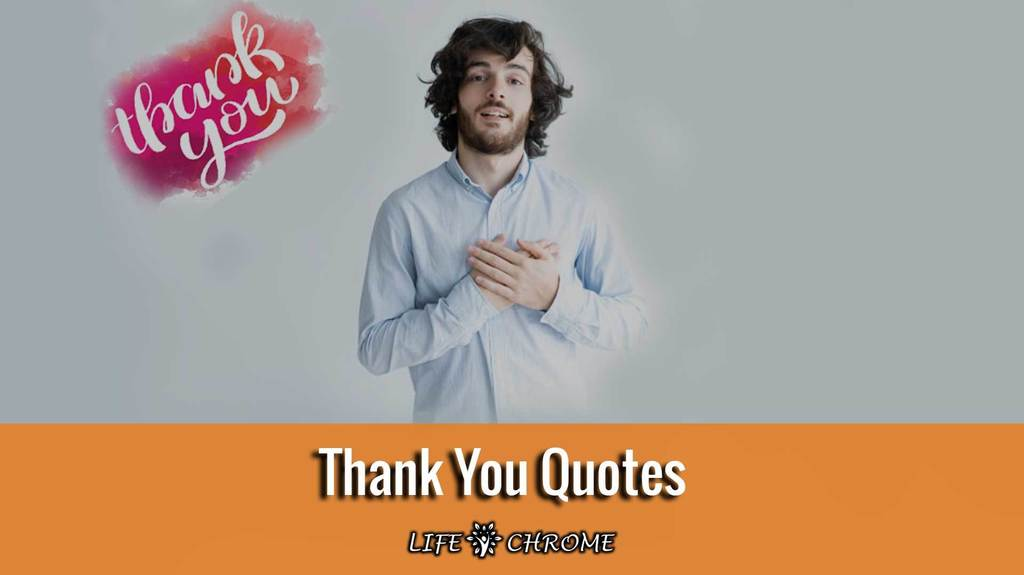 Thank-You Quotes