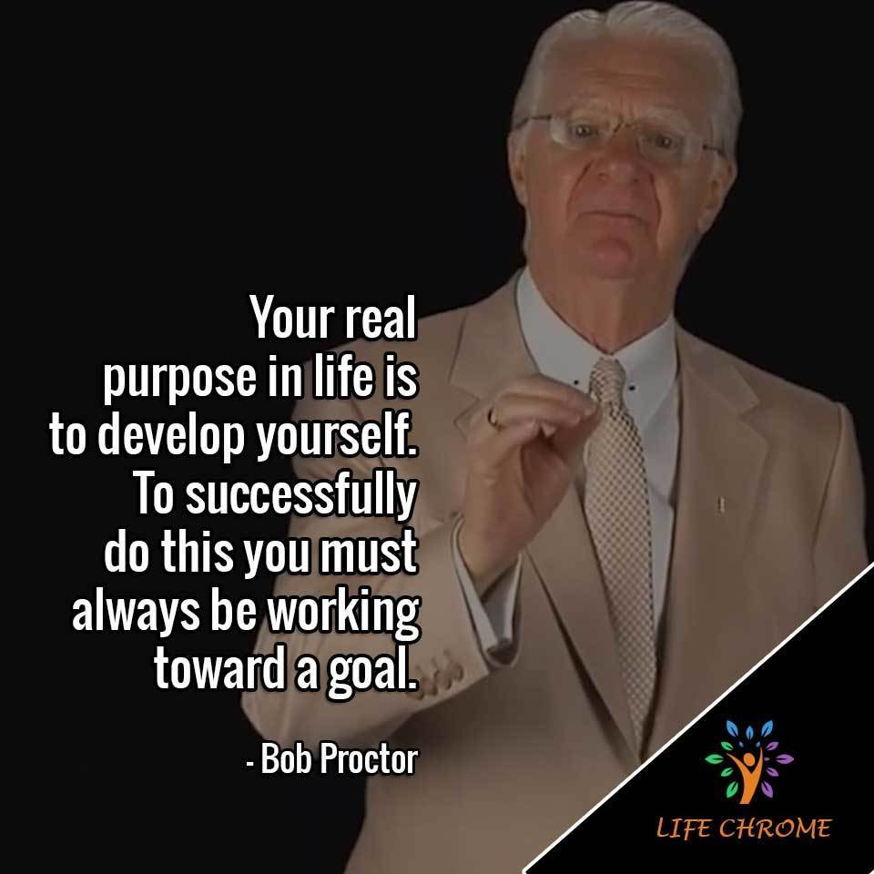 is to develop yourself.