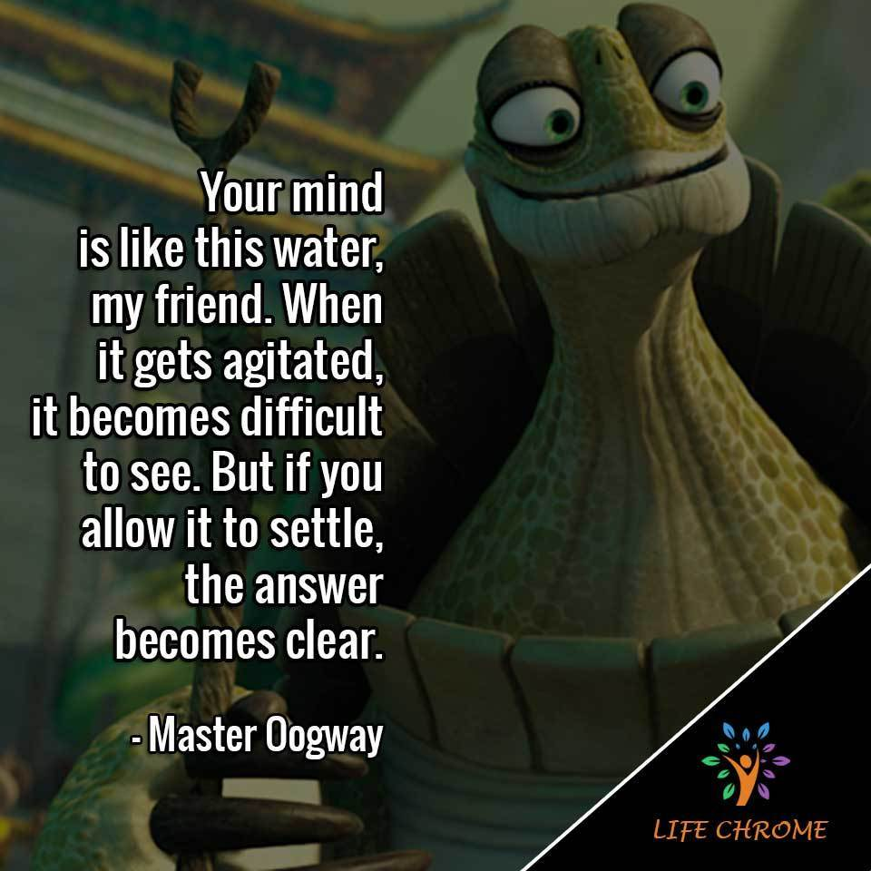 31 Best Master Oogway Quotes | Famous People's Quote Series