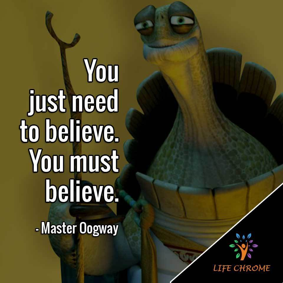 Master Oogway Quotes