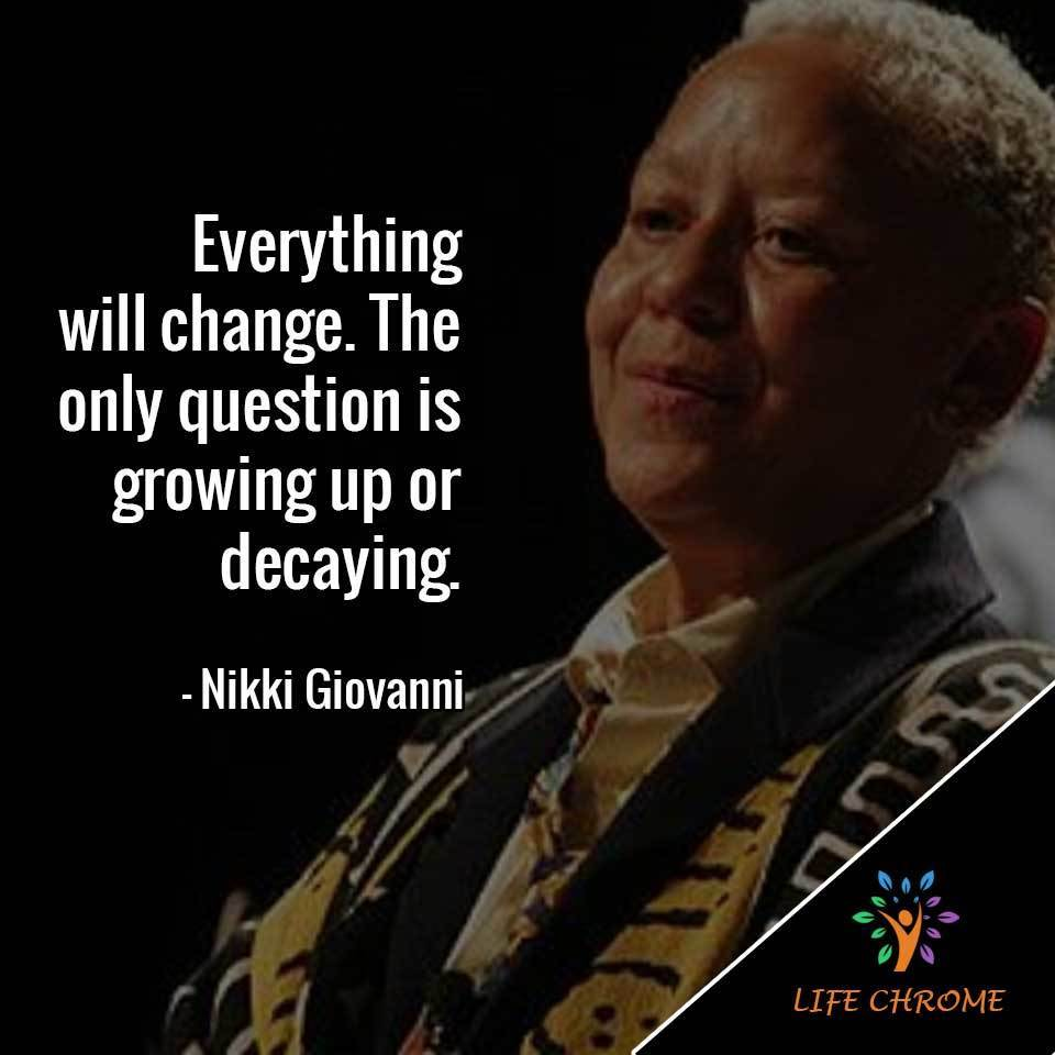 Nikki Giovanni Quotes