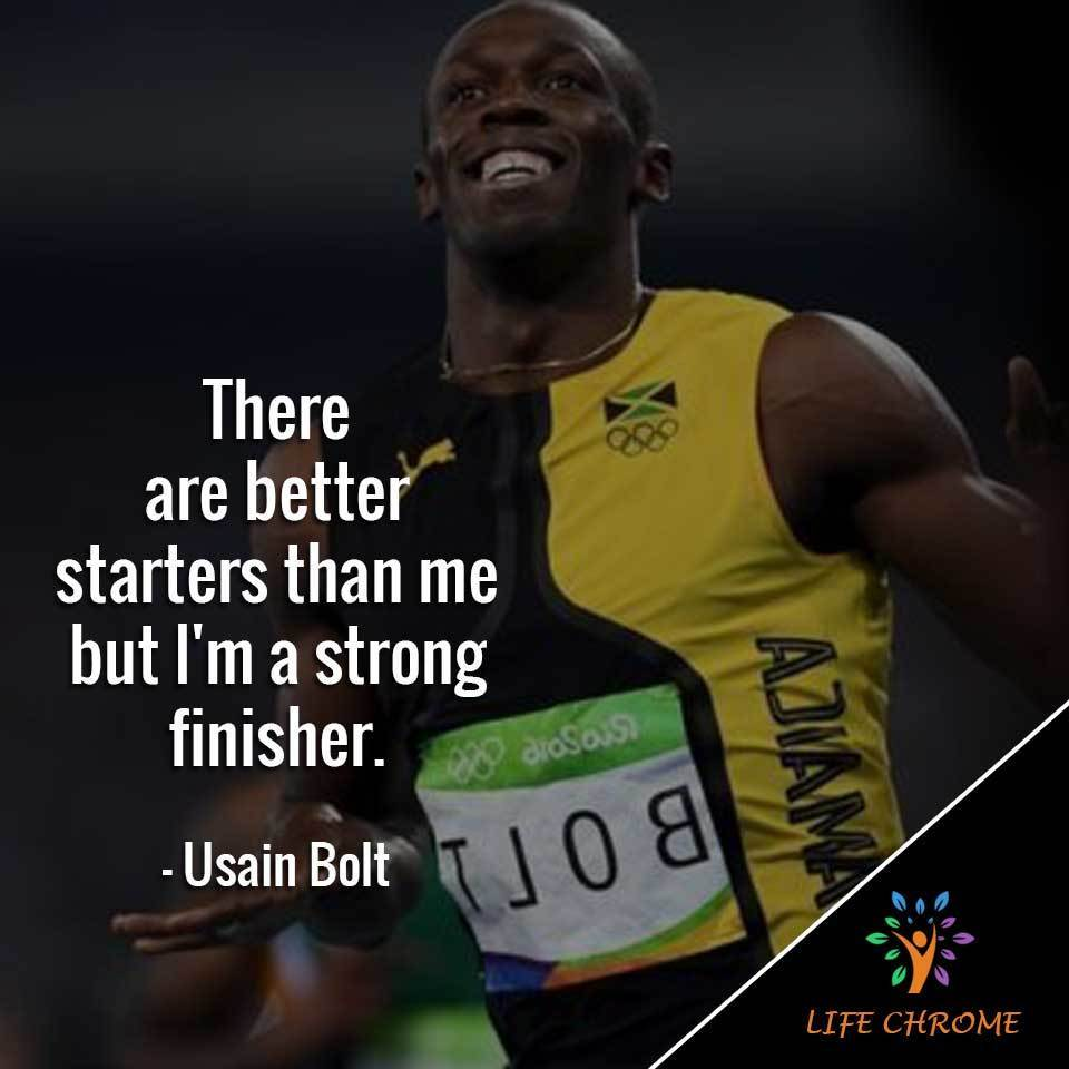 75 Best Usain Bolt Quotes Famous People S Quotes Series