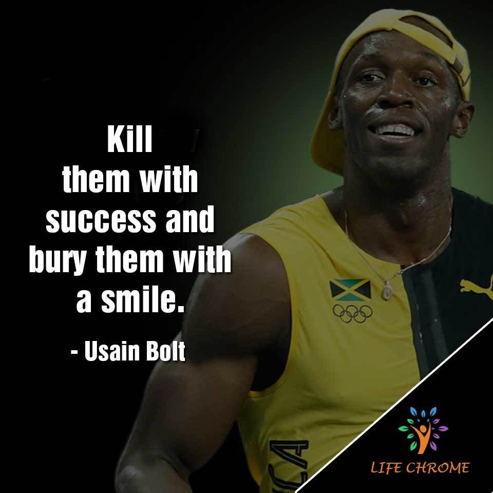 bury them with a smile.