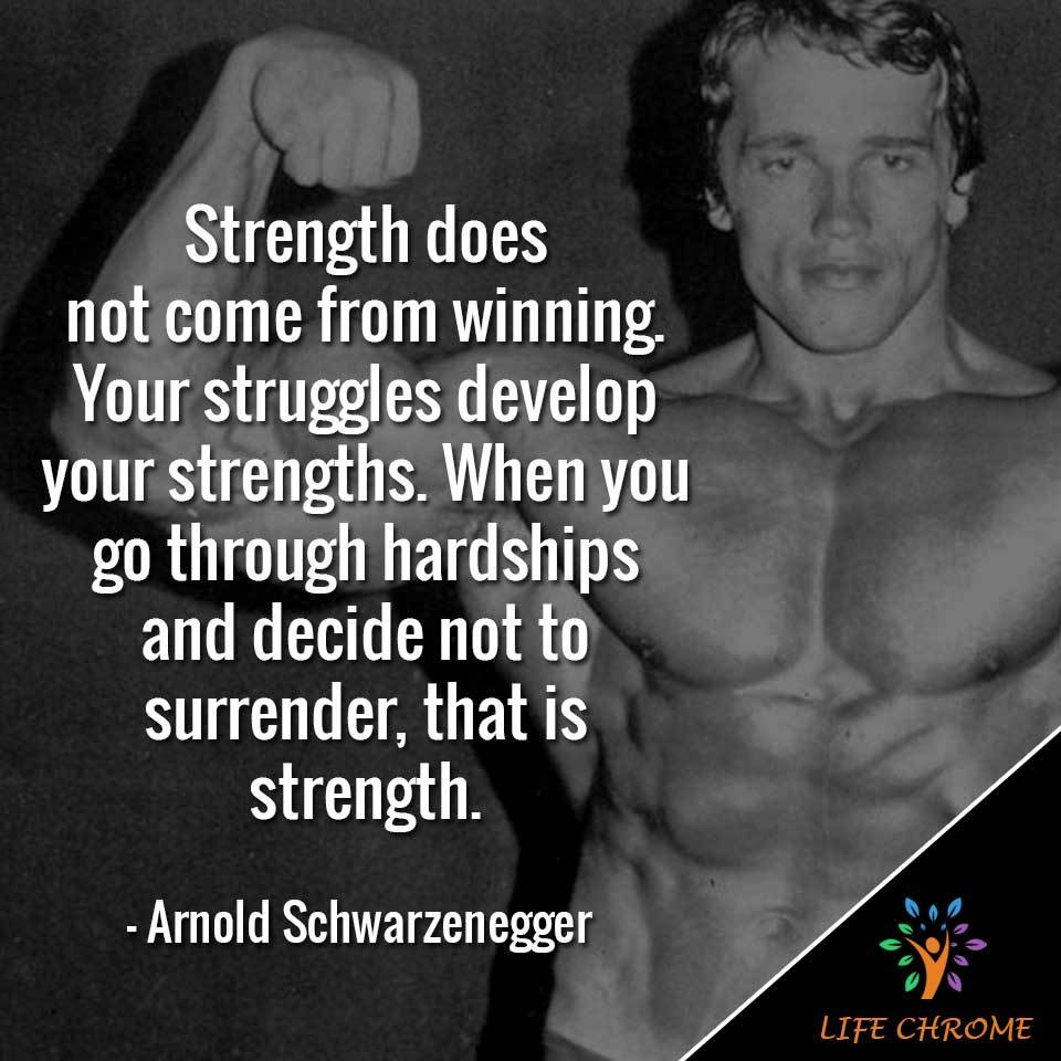 Arnold Schwarzenegger quotes