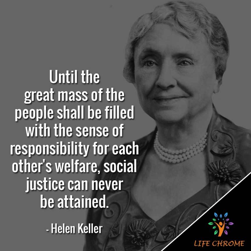 Until the great mass of the people shall be filled with the sense of responsibility