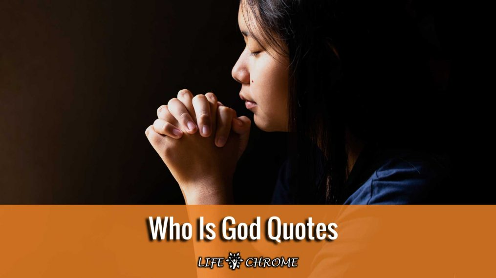 Who Is God Quotes