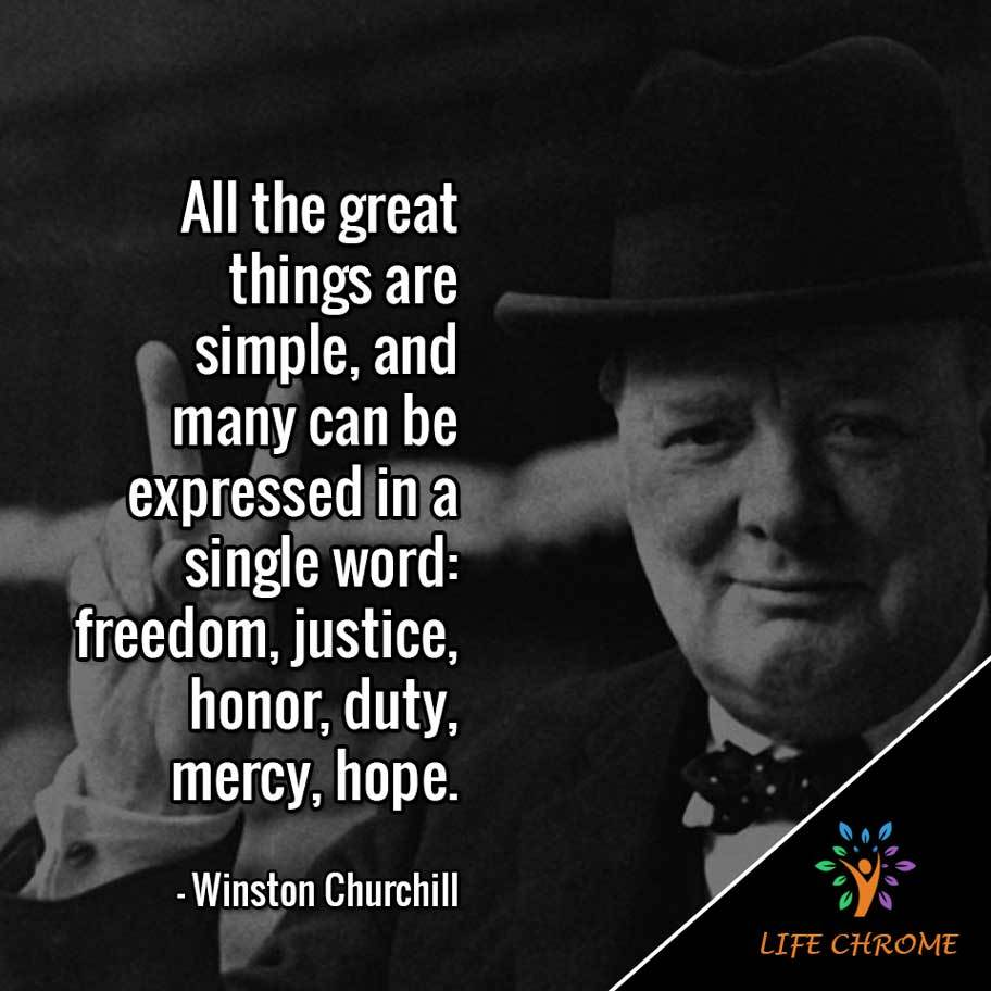 Winston Churchill Quotes Famous Peoples Quotes Series